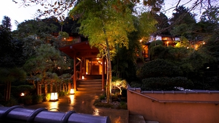 四季を味わう宿 山の茶屋施設全景
