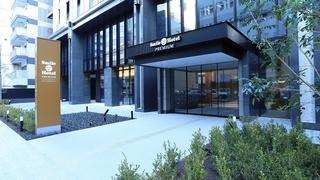 スマイルホテルプレミアム大阪本町(2017年12月15日オープン)施設全景