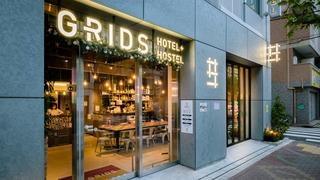 グリッズ 東京 浅草橋 ホテル&ホステル(2017年11月1日オープン)施設全景