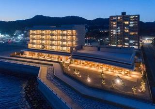下関温泉 風の海施設全景