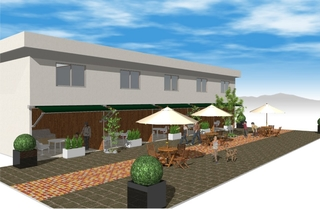 淡路島ホテル・ロッジ GREEN COZY<淡路島>施設全景