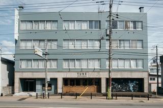 Tune Hakodate Hostel & MusicBal施設全景