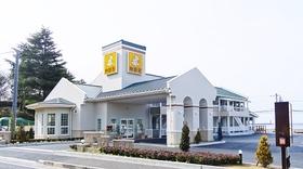 ファミリーロッジ旅籠屋・松山店施設全景