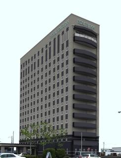 ホテルルートイン仙台東施設全景