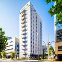 スーパーホテル東京・芝【高濃度人工炭酸泉 開城の湯】施設全景