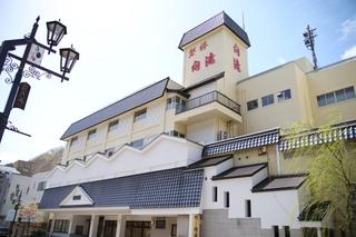 伊東園ホテル磐梯向滝施設全景