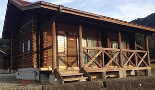 美濃田の淵キャンプ村施設全景