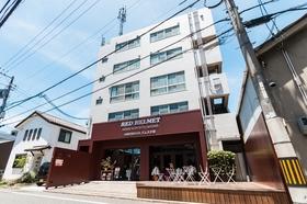 RED HELMET HOUSE&SPORTS CAFEBAR HIROSHIMA施設全景
