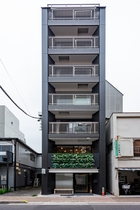 plat hostel keikyu asakusa station施設全景