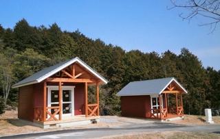たけべの森公園 オートキャンプ場施設全景