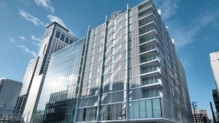 JR東日本ホテルメッツ札幌(2019年2月1日開業)施設全景
