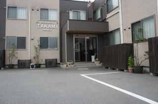 ビジネスホテル TAKAMI ANNEX施設全景