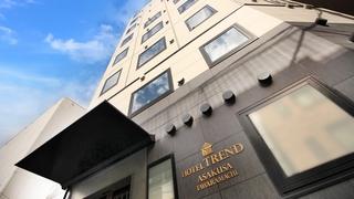 ホテルトレンド浅草田原町(2018年11月オープン)施設全景