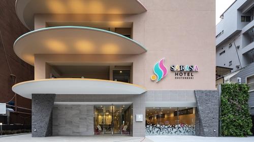 SARASA HOTEL道頓堀(サラサ ホテル道頓堀 2019年4月25日開業)施設全景
