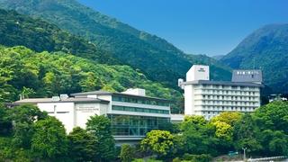 箱根湯本温泉 湯本富士屋ホテル施設全景