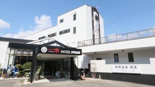 一楽温泉ホテル施設全景
