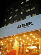 ビジネスホテル アトリエ施設全景