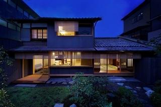 京の温所 西陣別邸施設全景