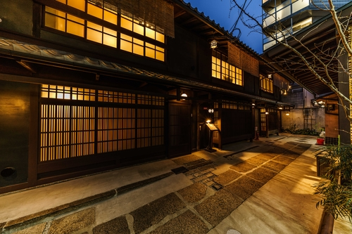 Kyoto Machiya 福音施設全景