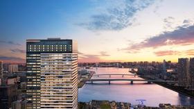 三井ガーデンホテル豊洲ベイサイドクロス(2020年6月25日オープン)施設全景