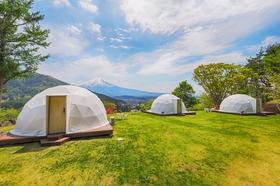 杓子山ゲートウェイキャンプ施設全景