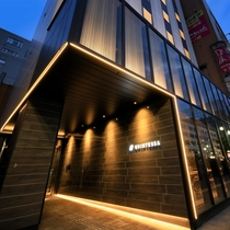 クインテッサホテル札幌すすきの施設全景