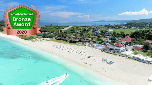 オクマプライベートビーチ&リゾート施設全景