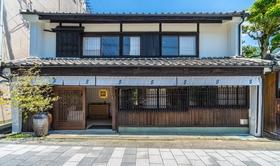 4S STAY 阿波池田 本町通り施設全景