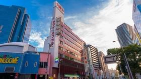 カプセルホテル 大東洋(レディス用)施設全景