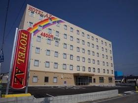 HOTEL AZ 広島三原店施設全景