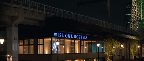 WISE OWL HOSTELS RIVER TOKYO施設全景