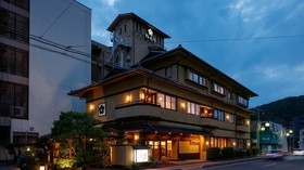 戸倉上山田温泉 梅むら旅館 うぐいす亭〈長野県〉施設全景