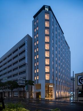 ネストホテル那覇久茂地(2021年4月1日オープン)施設全景