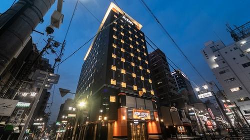 アパホテル<なんば心斎橋西>(全室禁煙)2021年5月26日(水)開業施設全景