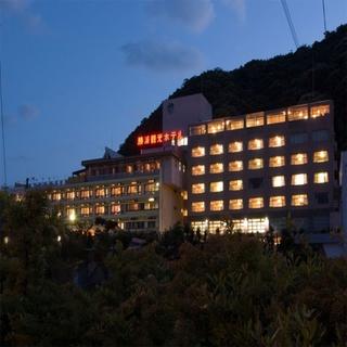 勝浦温泉 陽いずる紅の宿 勝浦観光ホテル施設全景