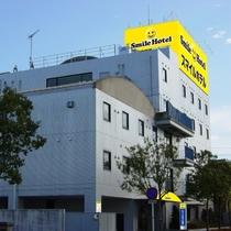 スマイルホテル掛川施設全景