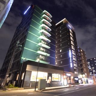 アパホテル<さいたま新都心駅北>施設全景