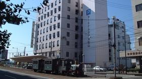 ターミナルホテル松山施設全景