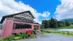 白馬 山のホテル施設全景