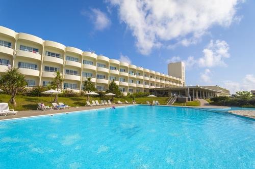 沖縄久米島イーフビーチホテル <久米島>施設全景