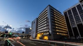 アパホテル<京都駅堀川通>施設全景