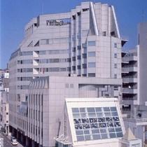 阿波観光ホテル施設全景