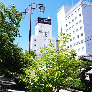 鳥取シティホテル施設全景