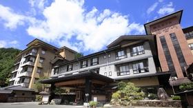 昼神温泉 湯元ホテル 阿智川施設全景