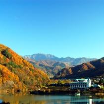 高遠温泉 高遠さくらホテル施設全景