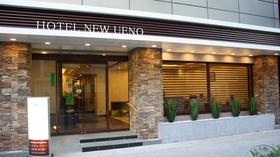 ホテル ニューウエノ施設全景