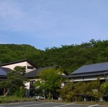山鹿 平山温泉旅館・家族湯いまむら施設全景