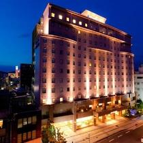 ホテルNo1松山施設全景