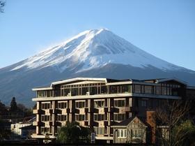 富士河口湖温泉郷 四季の宿 富士山施設全景