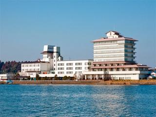 潮来ホテル施設全景